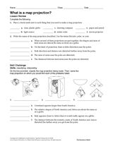 Image result for map projections worksheet | Maps - World ...