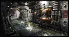 Concept Art World » Dead Space 3 Concept Art by Patrick O'Keefe