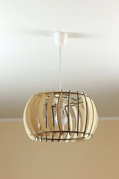 XL Wooden Lamp / Eco-friendly / Accent for home / by JVKWOODWORK