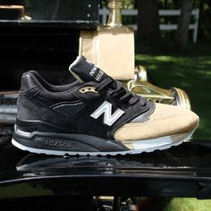 New Balance joins forces with @premierskate for an awesome 998 inspired by the auto industry of the early 20th century.  Get a first look along with full release info on SneakerNews.com