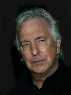 """October 17, 2014 -- Alan Rickman at the LLF premiere of """"A Little Chaos"""" in London, England."""