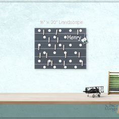 A beautiful way to display your cards and memos and decorate any room. This display board can be hanged in a dorm, kids room, teens room, office, kitchen, family space