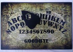 A4 Wooden Olde Worlde Ouija Board & Planchette Vintage Old Spritiual, Ghost Hunt Ouija, Juventus Logo, Runes, Boards, Logos, Vintage, Ebay, Sup Boards, A Logo