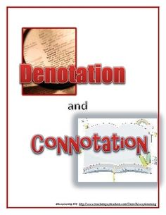 Scholastic denotation and connotation