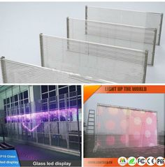 P16 Glass LED Display, which is mainly  used in indoor, especially in shopping mall.