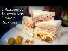 Ideas de rellenos para sandwiches, canapés, tartaletas y huevos rellenos                      El Saber Culinario