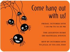 Invitation Halloween Party Could modify the image for Rock Climbing Party Zombie Party, Halloween Party Invitations, Halloween Party Decor, Cute Halloween, Holidays Halloween, Halloween Ideas, Rock Climbing Party, Unique Invitations, Invites
