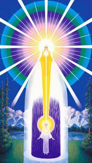 Dharmadhannya: Chama n Violeta  - A porta aberta da Divina Presen...
