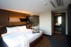 Golden Tulip Mandison Suites Bangkok - Sukhumvit - Bangkok, Thailand Business Centre, Bangkok Thailand, Tulip, Night Life, Hotels, Bed, Room, Furniture, Home Decor
