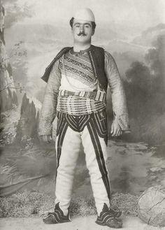 Otomano albanés del 1900