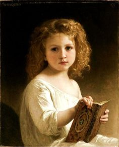 William-Adolphe Bouguereau (November 30, 1825 – August 19, 1905)  A French academic painter. William Bouguereau was a traditionalist; in his realistic genre paintings he used mythological themes, making modern interpretations of Classical subjects, with an emphasis on the female human body.  In 1856, he married Marie-Nelly Monchablon and subsequently had five children.