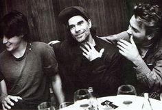 Keanu Reeves, Gus Van Sant, & River Phoenix