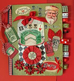 Christmas recipe journal...mom this is what I want for Christmas! I need all the family recipes!