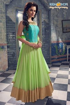 Designer Anarkali Suits by Designer Anarkali, Designer Gowns, Anarkali Dress, Anarkali Suits, Lehenga Choli, Long Anarkali, Punjabi Suits, Sari Dress, Churidar Suits