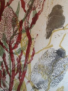 Trudy Rice's beautiful mixed media works...
