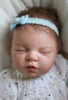 Reborn Newborn Baby Girl Doll Noah by By Reva Schick Real Life Baby Dolls, Baby Girl Dolls, Baby Girl Newborn, Tiny Dolls, Ooak Dolls, Cute Dolls, Bb Reborn, Reborn Baby Dolls, African American Reborn Babies