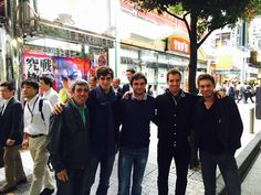 French men at Japan Open Tennis Championships 2015!