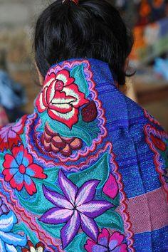 thinkandsmile:  Maya Cape Chiapas Mexico by Teyacapan on Flickr.