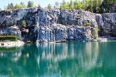 Morrison's Quarry Swimming Hole Is Officially Open For The Summer - Narcity Backpacking Canada, Canada Travel, Scuba Diving Classes, Ontario, Canada Holiday, Visit Canada, Morrisons, Swimming Holes