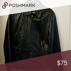 Leather  Lambskin Jacket Lambskin Leather this jacket is so soft. Very fine lambskin. Has 2 pockets and it very nice goes with anything your wearing. Wore to a Doobie Bros concert in Hollywood. Like brand new. All my products come from a smoke free home. Jackets & Coats