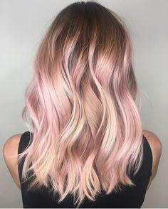 Pink lady  #regram @kateloveshair #americansalon