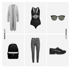 Sexy Body, High Waist Jeans und flache Kunstlederschuhe. Hier entdecken und shoppen: http://sturbock.me/BO3