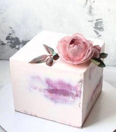42 Super Ideas For Cupcakes Decoration Boda Flower Cakes - 42 Super Ideas For Cupcakes Decoration Boda Flower Cakes - Pretty Cakes, Beautiful Cakes, Amazing Cakes, Rodjendanske Torte, Bolo Cake, Modern Cakes, Square Cakes, Just Cakes, Buttercream Cake