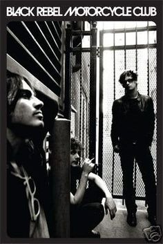 Black Rebel Motorcycle Club Poster Group Shot 24x36 - 2