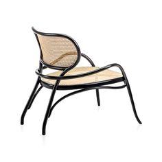 Lehnstuhl designed by Nigel Coates, made by Gebrüder Thonet