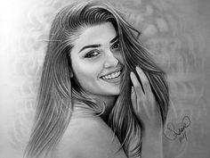 Pencil Drawing Hande Erçel
