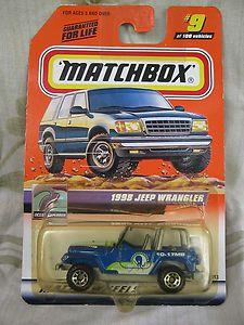 1998 JEEP WRANGLER - 1:64 - MATCHBOX