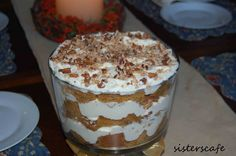 Pumpkin Cream Trifle | The Sisters Cafe