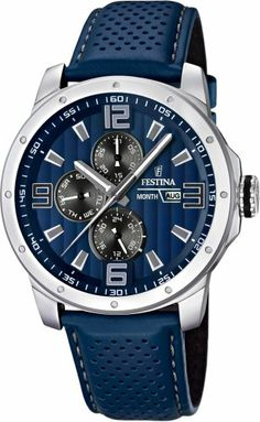 Festina Trend F16585/3 Wristwatch for Him Classic Design