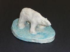 that artist woman: How to Make a Clay Polar Bear