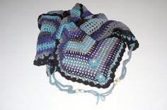 Road Trip  scarf crochet triangle scarf fashion by CrochetRagRug #Etsyspecialt