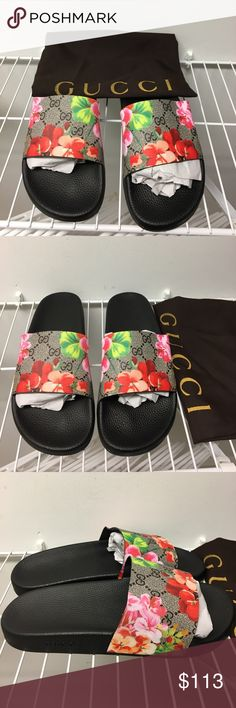 Gucci flip flop slides size 10 New never worn size 10 no box price firm Shoes Sandals & Flip-Flops