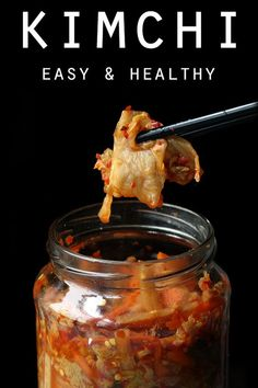 Kimchi may look daunting, but it's easy to make! Our easy homemade keto kimchi is delicious, nutritious & quick to prepare. Enjoy this as a low carb & paleo dinner side. Fermentation Recipes, Canning Recipes, Healthy Dinner Sides, Paleo Dinner, Vegetarian Recipes, Healthy Recipes, Healthy Food, Think Food, Korean Food