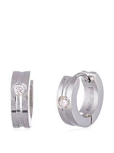 Bliss Swarovski Crystal Huggie Earrings