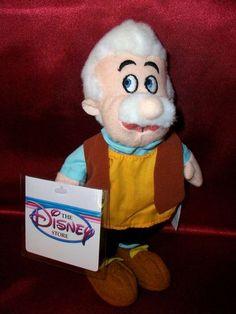 Gepeto Disney Original Filme Pinoquio E Grilo Falante Novo - R$ 99,99 no MercadoLivre