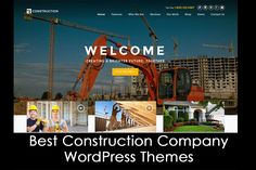 Here are the 20+ Best Construction Company WordPress Themes 2016 (Free and Premium). This list includes a few free themes, some premium themes, and a few others that offer free & paid versions.