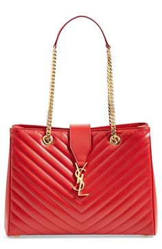 gorgeous red YSL bag http://rstyle.me/n/wngk5r9te