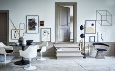Artsy interior - via Coco Lapine Design blog