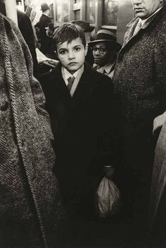 Boy in the Subway, 1956 @ Diane Arbus