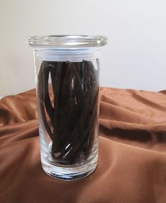 The perfect jar for storing vanilla beans, coffee beans and even jelly beans!