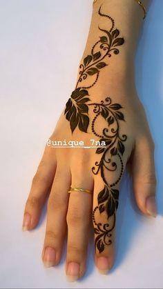Latest Arabic Mehndi Designs - All From Simple To Grand | Lifestyle #mehndi #arabicmehndi #mehndidesigns #stylishblousedesign #longnaildesigns