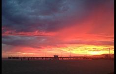 Gorgeous Pics From Last Night's Insane Sunset Red Sunset, Sunset Photos, Sunsets, Sky, Night, Nature, Pictures, Outdoor, Photos
