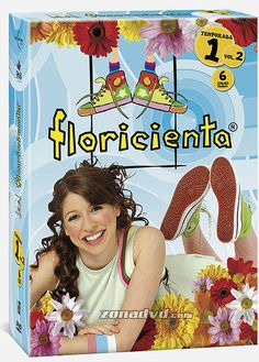 Floricienta - Primera temporada Volumen 2 carátula DVD