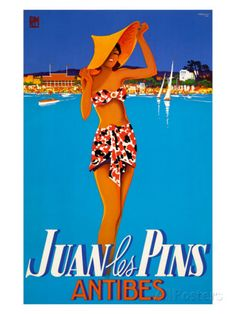Juan les Pins Giclee Print at AllPosters.com