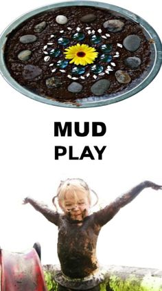 Tons of fun and creative ways for kids to play in the mud! #mudplayideas #mudactivitiesforpreschool #mudrecipeforkids #internationalmudday #growingajewelerose Educational Activities For Kids, Science For Kids, Summer Activities, Preschool Activities, Kids Learning, Outdoor Education, Kids Education, Mud Recipe, 100 Fun