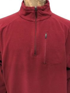 King Size Jersey Knit Cargo Pants NWT Red Wine XLT